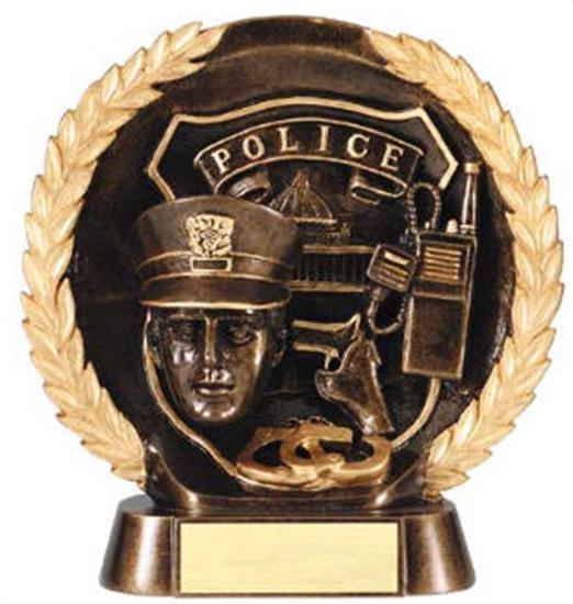 Police Trophy 7 1/2 Inch