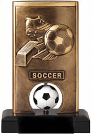 Soccer Spinning Trophy