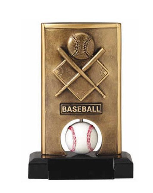 Baseball Spinning Trophy