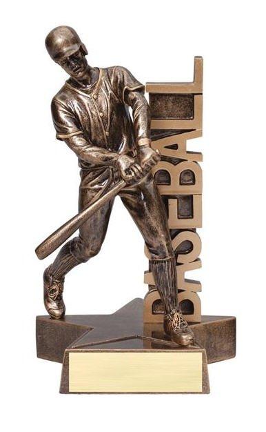 Baseball Male Player Trophy