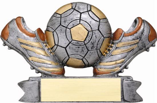 Colored Soccer Trophy
