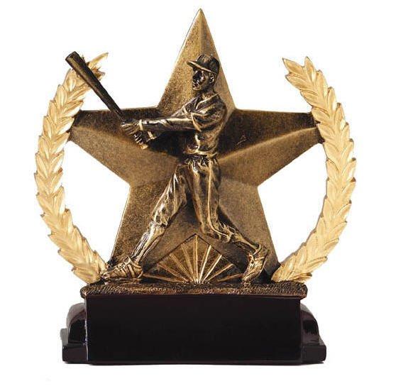 Baseball Star Trophy