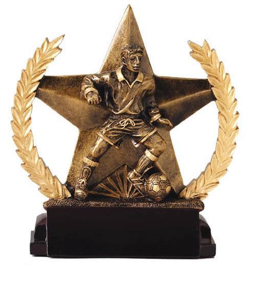 Male Soccer Star Trophy