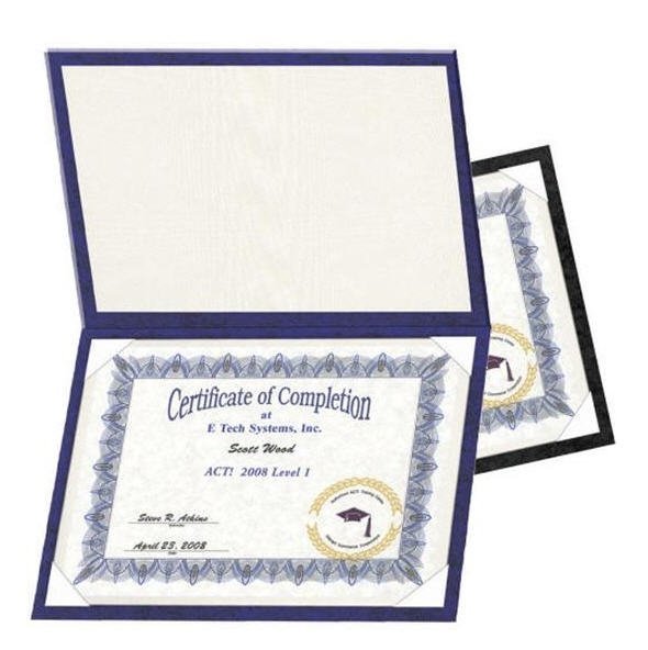 Navy Certificate Holder