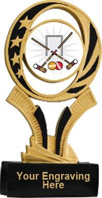 Croquet Midnite Star Resin Trophy