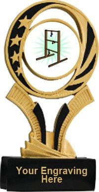 Ladder Golf Midnite Star Resin Trophy