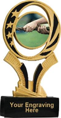 Tug of War Midnite Star Resin Trophy
