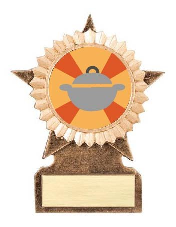 Best Thanksgiving Side Dish Star Stand Trophy