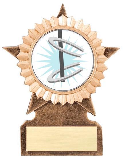 Horseshoe Star Stand Trophy