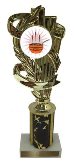 Chili Cook Off Column Trophy