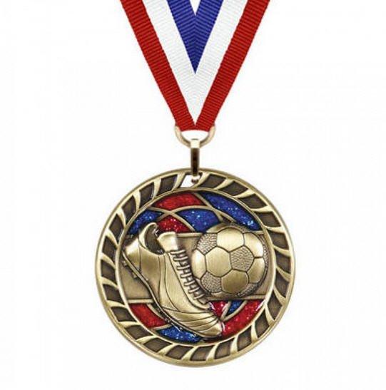 Soccer Award Medal