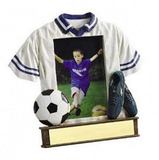 Custom Soccer T-Shirt Trophy
