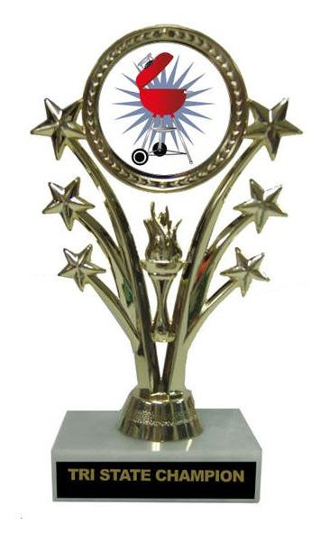 Barbecue Star Cook Off Trophy