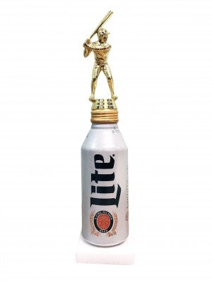 Beer Can Stand Award - Softball Trophy