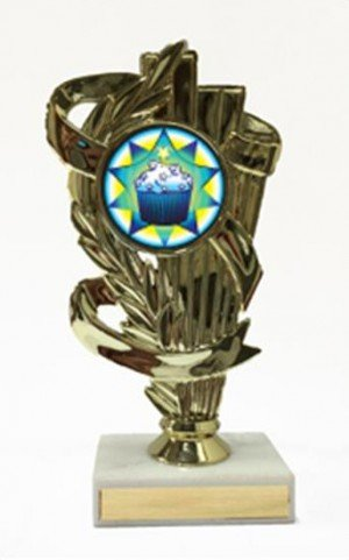 Cupcake Figure Trophy