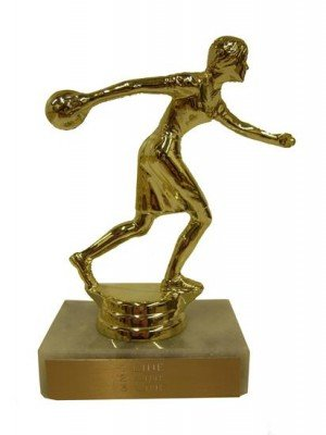 Bowling Trophy Award