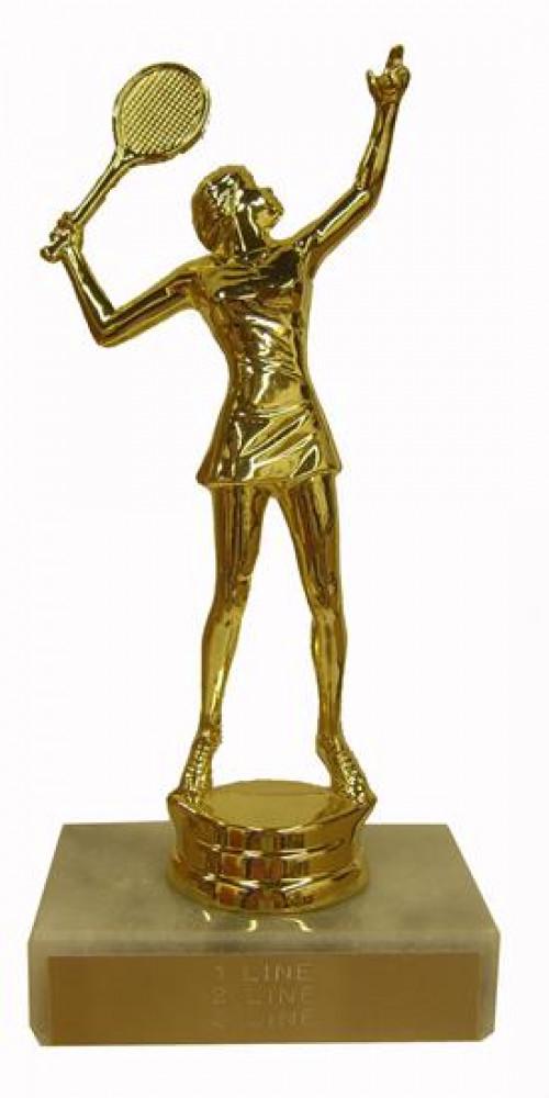 Tennis Trophy Award
