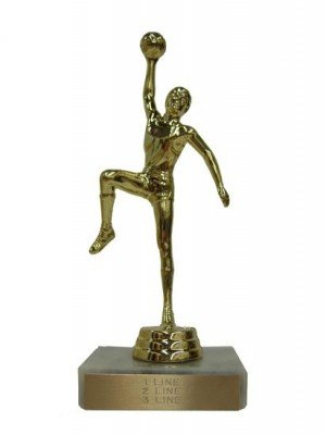 Basketball Hook Shot Trophy