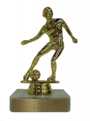 Male Soccer Trophy
