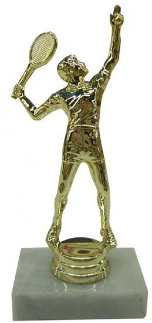 Male Tennis Trophy Award