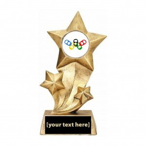 Resin Stars Beer Olympics Trophy