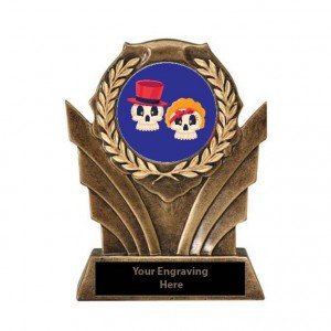Halloween Cutest Couple Victory Resin Trophy