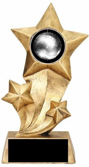 Disco Ball Rising Stars Trophy