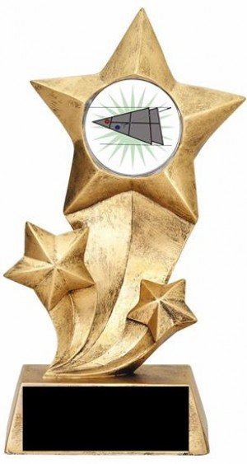 Shuffleboard Rising Stars Trophy