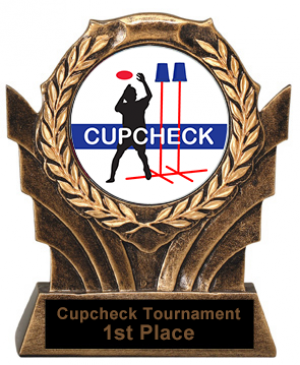 Cupcheck Trophies Victory Resin