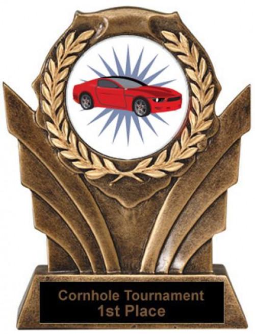 Victory Resin Car Trophies
