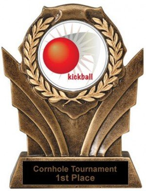 Victory Resin Kickball Trophies