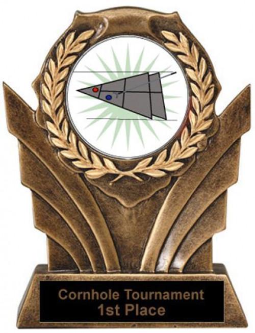Shuffleboard Victory Resin Trophy