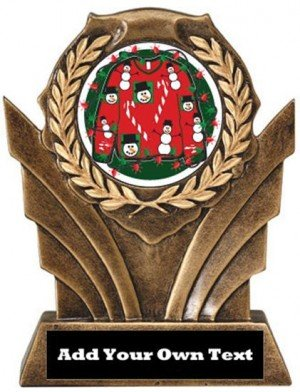 Ugly Christmas Sweater Victory Resin Trophy