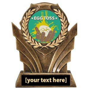 Egg Toss Victory Trophy
