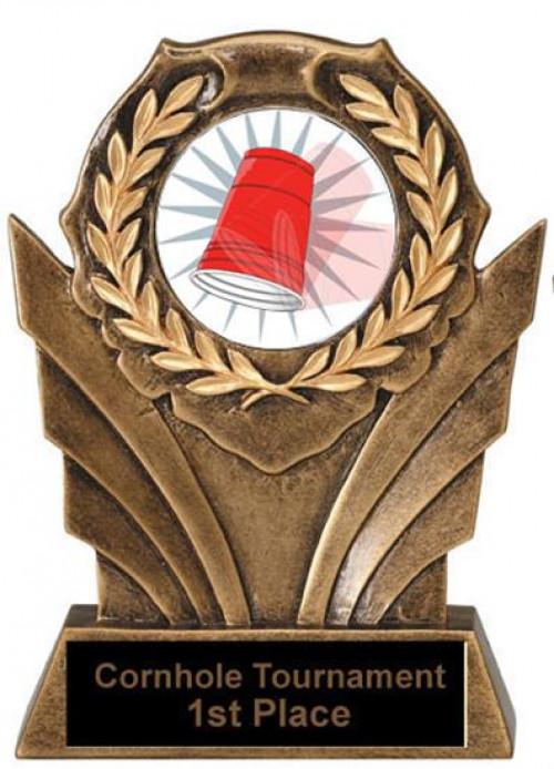 Victory Resin Flip Cup Trophies