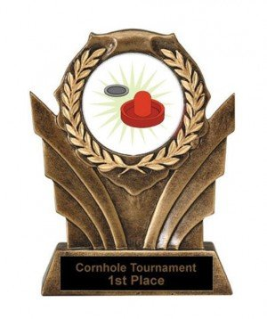 Air Hockey Victory Resin Trophy
