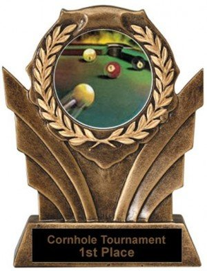 Billiards Victory Resin Trophy