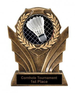 Victory Resin Badminton Trophies