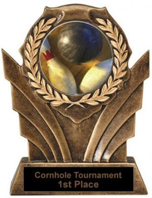 Bowling Victory Resin Trophy