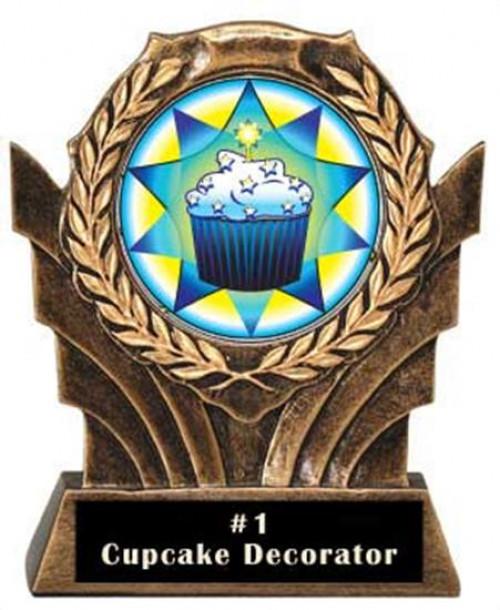Victory Resin Cupcake Trophies