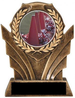 Cheerleading Victory Resin Trophy