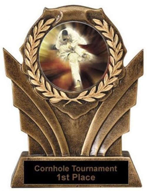 Karate Victory Resin Trophy