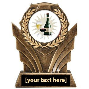 Wine Tasting Victory Resin Trophy