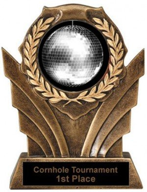 Disco Victory Resin Trophy