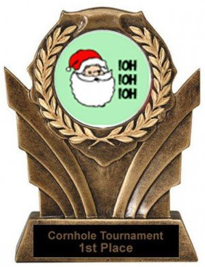 Victory Santa Gingerbread Trophies