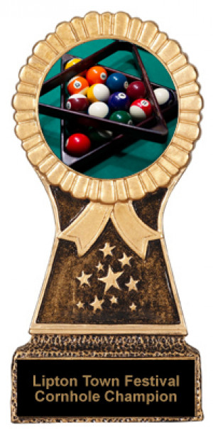 Billiard Resin Stand Trophy