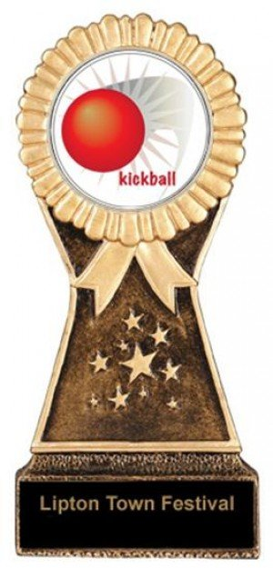 Resin Stand Kickball Trophies