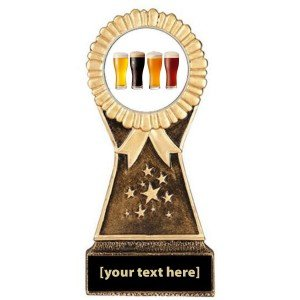 Beer Tasting Resin Stand Trophy