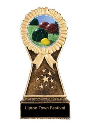 Resin Stand Bocce Trophies