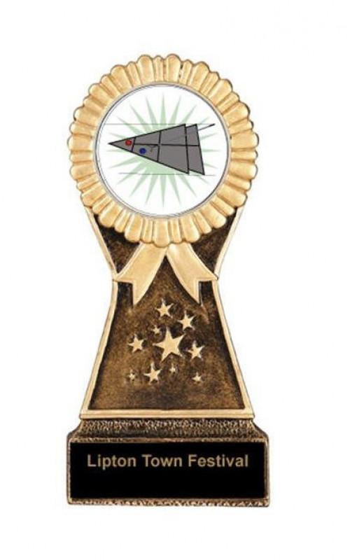 Shuffleboard Resin Stand Trophy